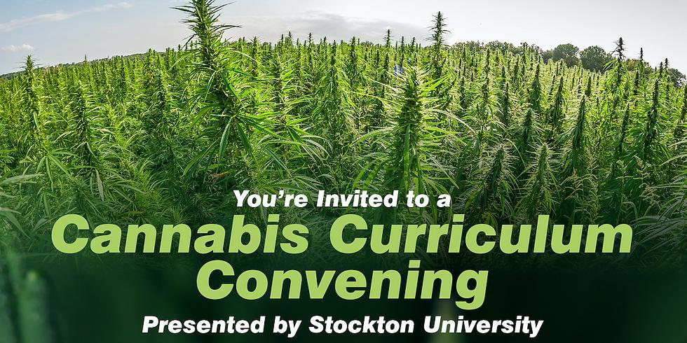Cannabis Curriculum Convening at Stockton University
