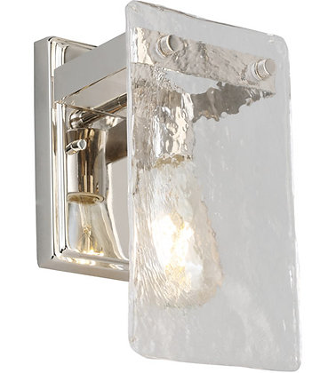 Eglo 203991A Wolter 1 Light 5 inch Polished Nickel Wall