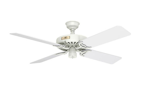 Hunter Outdoor Ceiling Fan White