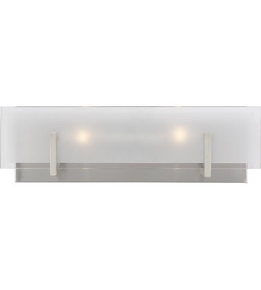Sea Gull 4430802-962 Syll Brushed Nickel Wall Bath Fixture Wall Light