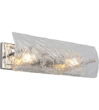 Eglo 203992A Wolter 2 Light 19 inch Polished Nickel Bath