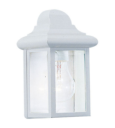 Sea Gull 8588-15 Mullberry Hill White Outdoor Wall Lantern