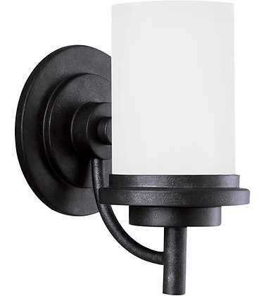 Sea Gull 44660-839 Winnetka Blacksmith Wall Sconce Wall Light