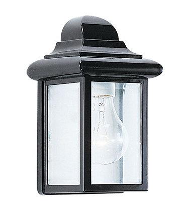 Sea Gull 8588-12 Mullberry Hill Black Outdoor Wall Lantern