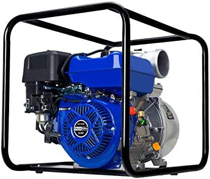 """Duromax 2"""" 158 GPM 7HP Semi thrash water pump GAS"""