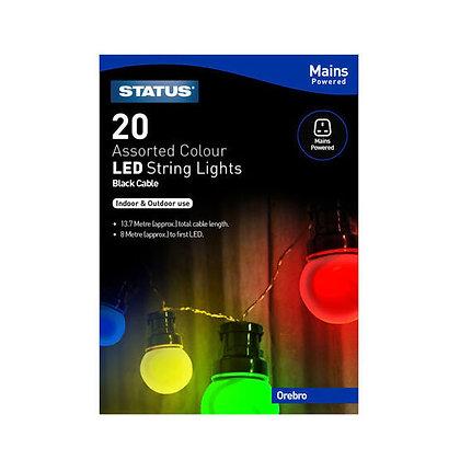 Status Orebro 20 LED String Lights