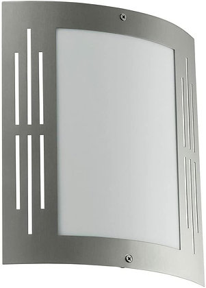Eglo 20629A City Stainless Steel Outdoor Wall