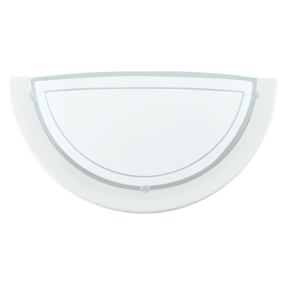 Eglo 83154 PLANET1 WALL LAMP 1X60W E27 STELL WHITE ind 1