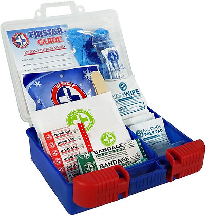 First Aid Kit:Be Smart Get Prepared
