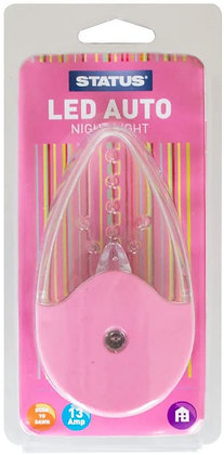 Status LED Dusk to Dawn Automatic Night Light - Pink