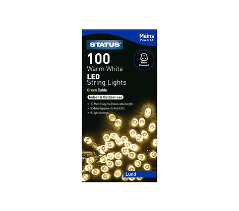 Status Lund 100 LED String Lights
