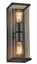 PLC Lighting 2-Light 40W Bronze Dimmable