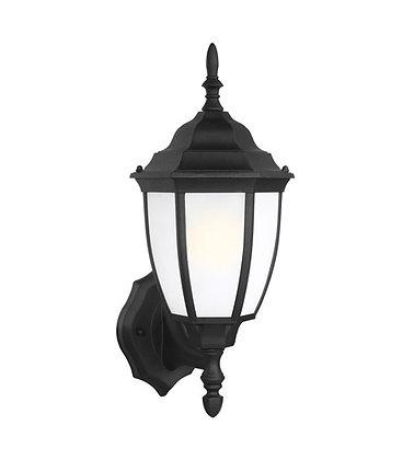 Sea Gull 89940-12 Bakersville Black Outdoor Wall Lantern