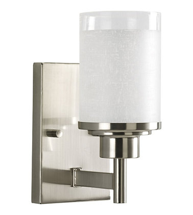 Progress P2959-09 Alexa 1 Light 5 inch Brushed Nickel