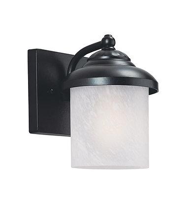 Sea Gull 84048-12 Yorktown Black Outdoor Wall Lantern