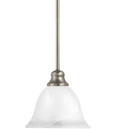 Sea Gull 61940-962 Windgate Brushed Nickel Mini Pendant Ceiling Light