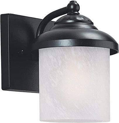 Sea Gull Yorktown Small One Light Outdoor Wall Lantern (84048-12)
