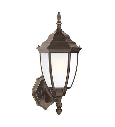 Sea Gull 89940-782 Bakersville Heirloom Bronze Outdoor Wall Lantern