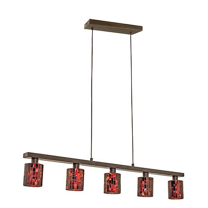 Eglo 20965A Hanging Light Antique Brown
