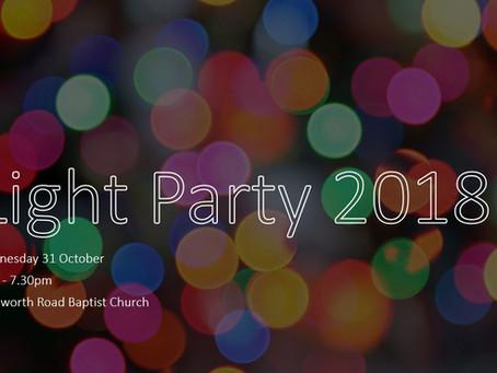 Light Party - a Halloween alternative