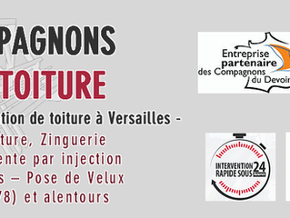 Entreprise de couverture de toiture sur Versailles / Yvelines