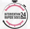 intervention rapide sous 24h pour les fuites de toiture à Versailles et dans les Yvelines