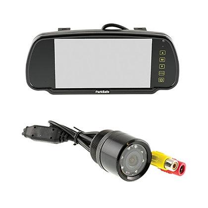 PS7006-C02   7'' Mirror Monitor & Bumper-mount Camera