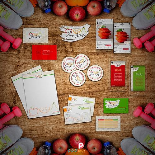 Nutri 01 - Kit Identidade Visual Exclusivo