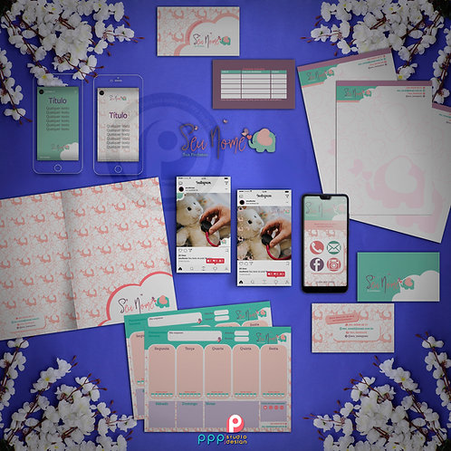 Elefante 01 - Kit Identidade Visual Exclusivo