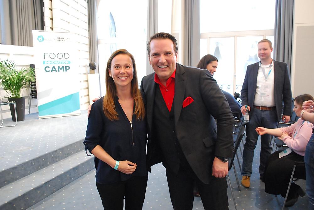 Spoonful founder Katharina & investor Ralf Dümmel