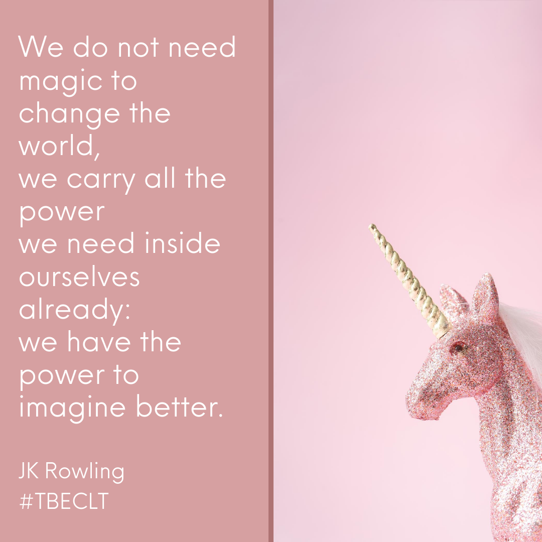 We do not need magic to change the world
