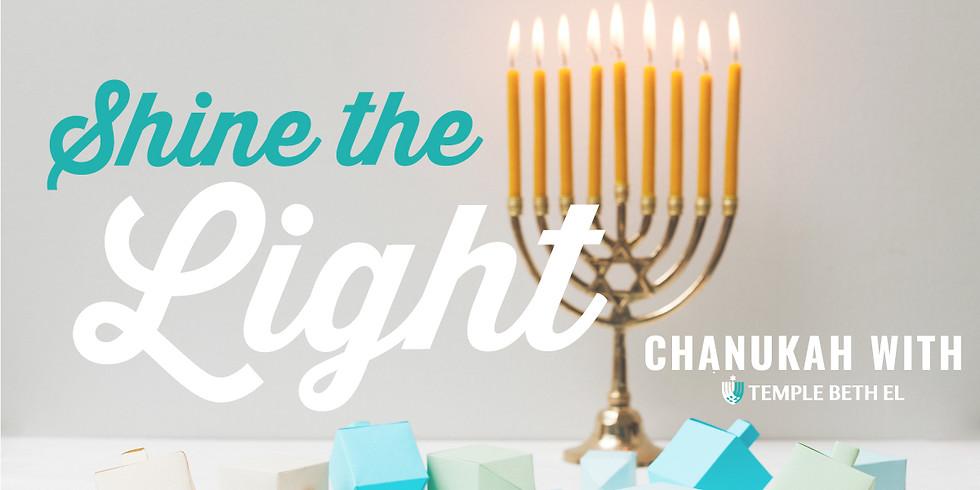 Shabbat and Chanukah Service: Shine the Light