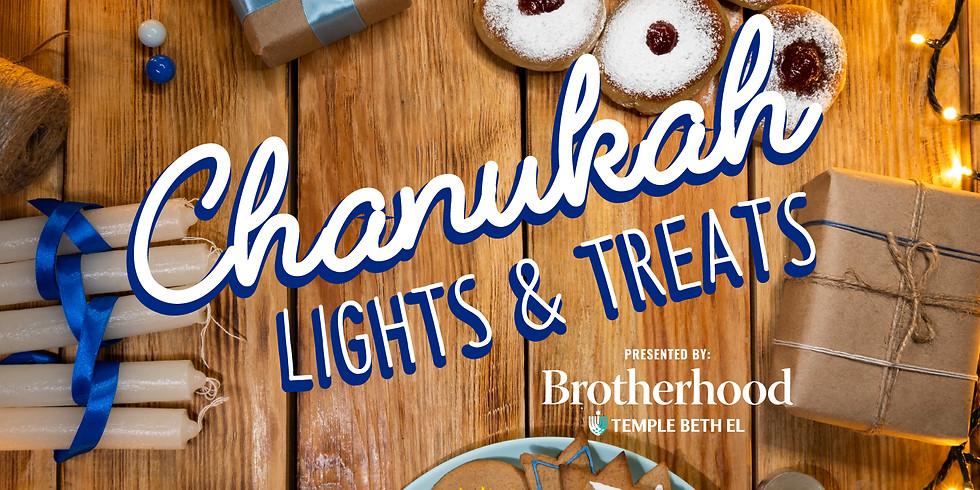 Chanukah Lights and Treats