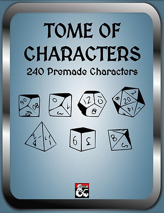 Tome of Characters