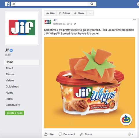 Social Posts//Jif