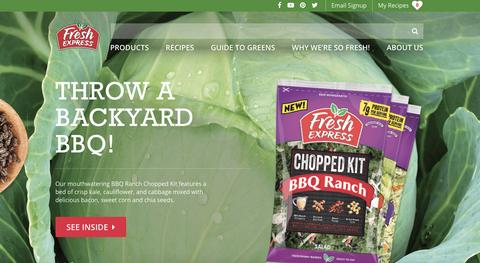 Website//Fresh Express Salads