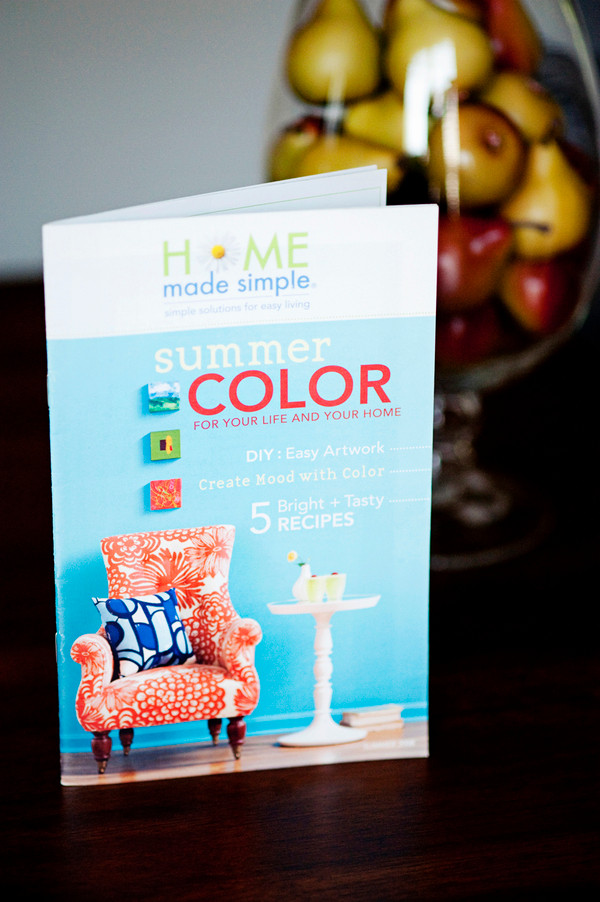 Mini Magazine//Home Made Simple + P&G