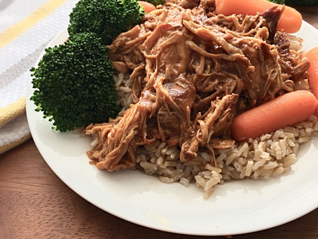 Honey Asian Crock Pot Chicken