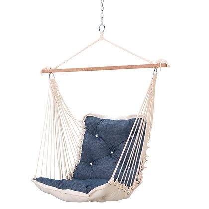 Tufted Single Swing - Platform Indigo