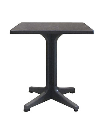 """Omega 32"""" Square Exterior Dining Table"""