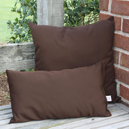 Cocoa Outdoor Rectangle Throw Pillow
