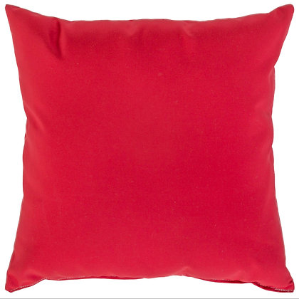 Jockey Red Outdoor Throw Pillow