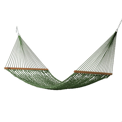 Large Meadow Polyester Rope Hammock