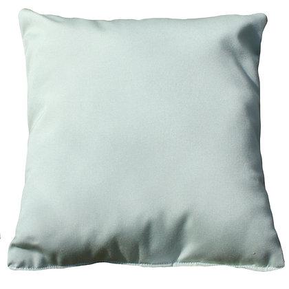 Canvas Celadon Outdoor Throw Pillow