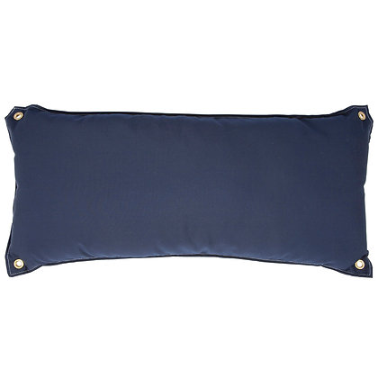 Canvas Navy Hammock Pillow