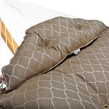 Large Tufted Hammock - Arch Cocoa