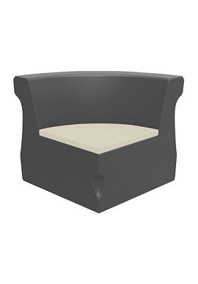 Radius Curved Corner Module with Seat Pad