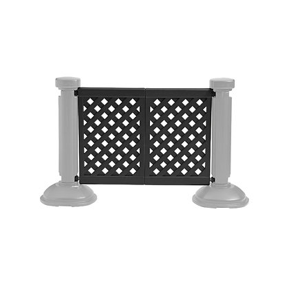Crowd Control 2/Panel Section Black