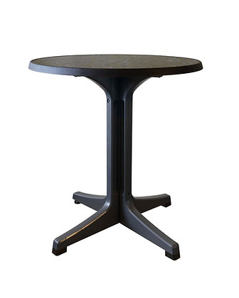 "Omega 34"" Round Exterior Dining Table"