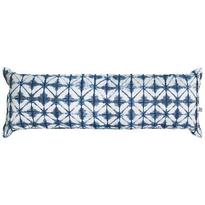 Long Hammock Pillow - Midori Indigo